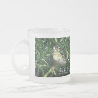 Kiss Me Frog Prince Funny Mug