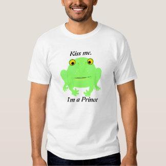 Kiss Me Frog tshirts