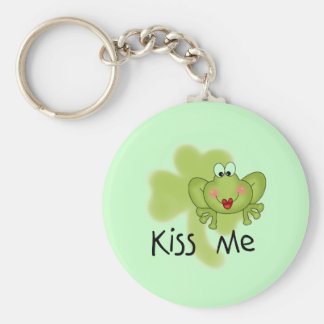 Kiss Me Froggy Tshirts and Gifts Keychain