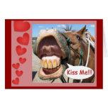 Kiss Me !!! Greeting Card