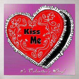 Kiss Me Heart Poster
