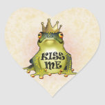 Kiss Me Heart Sticker