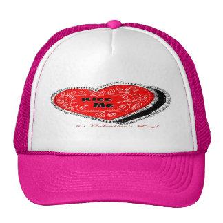 Kiss Me Heart Trucker Hat