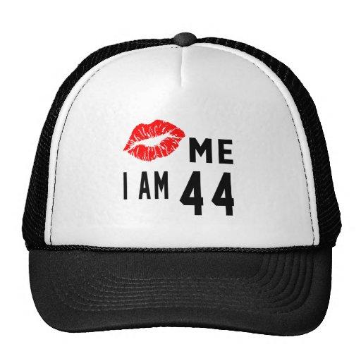 Kiss Me I Am 44 Trucker Hat