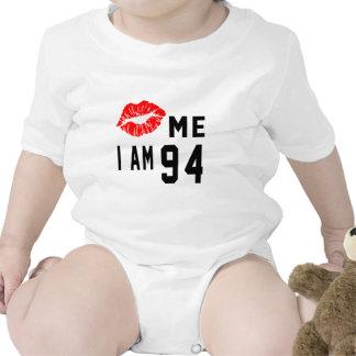 Kiss Me I Am 94 Bodysuits