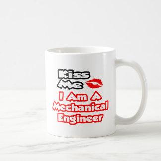 Kiss Me...I Am A Mechanical Engineer Coffee Mug