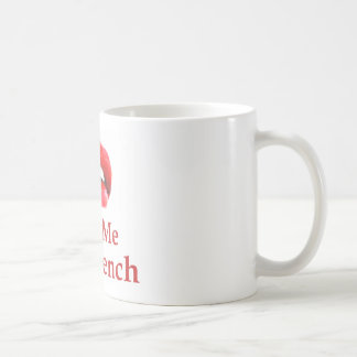 Kiss Me I Am French Coffee Mug