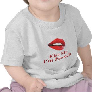 Kiss Me I Am French Tshirt