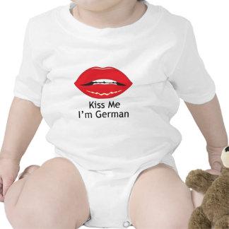 Kiss Me I Am German Tshirts
