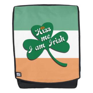Kiss me I am Irish Backpack