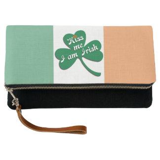Kiss me I am Irish Clutch