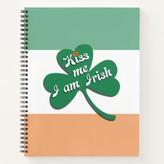 Kiss me I am Irish Notebook