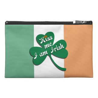 Kiss me I am Irish Travel Accessories Bags