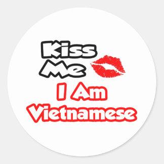 Kiss Me...I Am Vietnamese Stickers