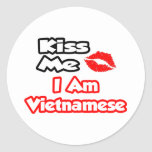Kiss Me...I Am Vietnamese Stickers