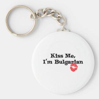 Kiss Me I'm Bulgarian Keychains