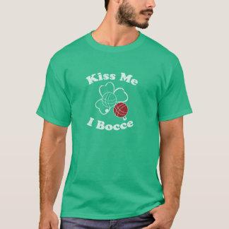 Kiss Me, I Bocce T T-Shirt