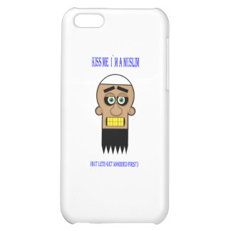 kiss me i`m a muslim. case for iPhone 5C