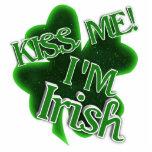 Kiss Me, I'm Irish! Acrylic Cut Outs