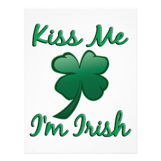Kiss Me I'm Irish Flyer