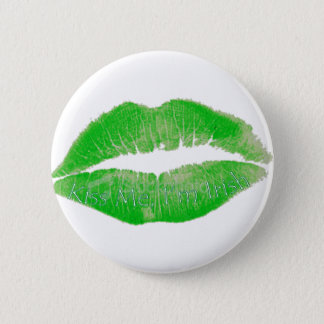 Kiss Me, I'm Irish Pinback Button