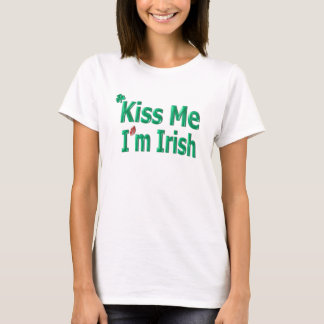 Kiss Me I'm Irish - Saint Patricks Day T-Shirt
