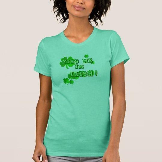 Kiss me I´m Irish Shirts