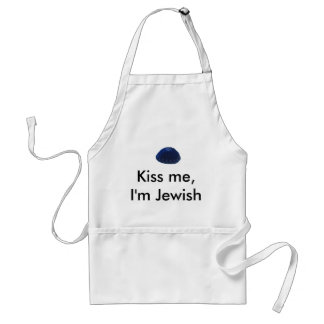 Kiss Me I m Jewish Apron