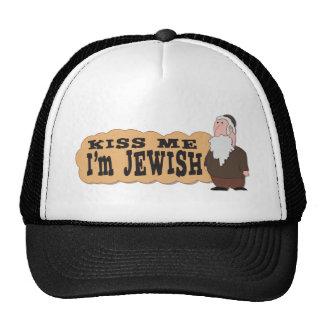 Kiss me I m Jewish - Finest Jewish humor Trucker Hats