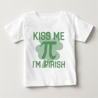 """Kiss Me, I'm Pi-rish"" Baby T-Shirt"