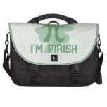 """""""Kiss Me, I'm Pi-rish"""" Laptop Computer Bag"""