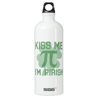 """Kiss Me, I'm Pi-rish"" SIGG Traveler 1.0L Water Bottle"
