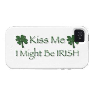 Kiss ME I Might be IRISH Vibe iPhone 4 Covers