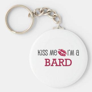 Kiss Me I'm a BARD Key Chains