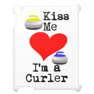 Kiss me I'm a Curler Case For The iPad 2 3 4