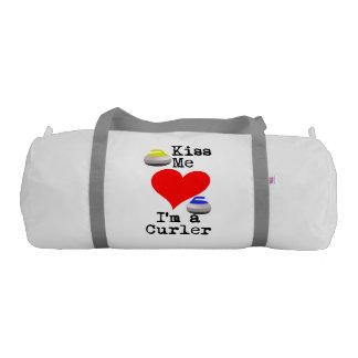 Kiss me I'm a Curler Gym Bag