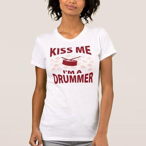 Kiss Me I'm A Drummer Shirt