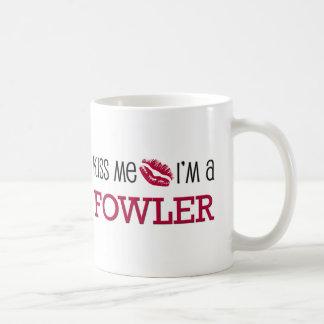 Kiss Me I'm a FOWLER Coffee Mug