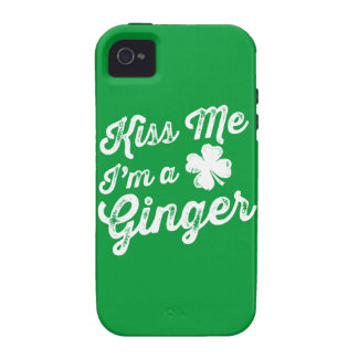 Kiss Me I'm A Ginger! Case For The iPhone 4