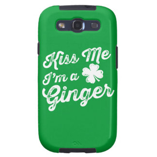Kiss Me I'm A Ginger! Samsung Galaxy SIII Case