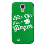 Kiss Me I'm A Ginger! Galaxy S4 Covers