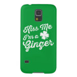 Kiss Me I'm A Ginger! Galaxy S5 Covers