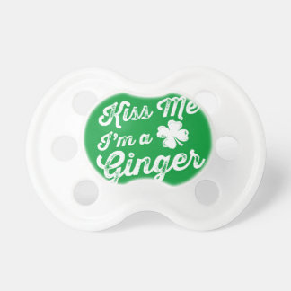 Kiss Me I'm A Ginger! Pacifier