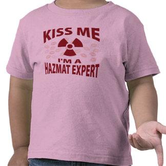 Kiss Me I'm A Hazmat Expert Tees