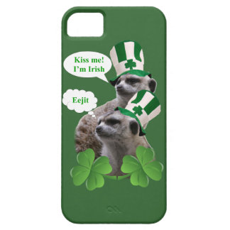 Kiss me I'm a Irish meerkat design iPhone SE/5/5s Case