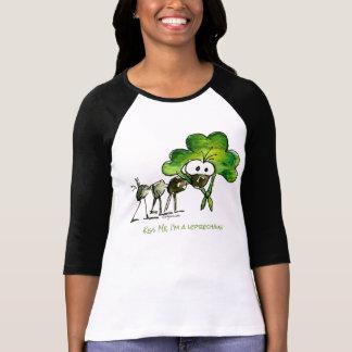 Kiss Me I'm a Leprechaun St. Paddys T Shirts