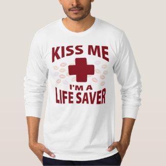 Kiss Me I'm A Life Saver T-Shirt