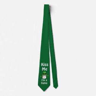 Kiss Me, I'm a Llama Neck Tie