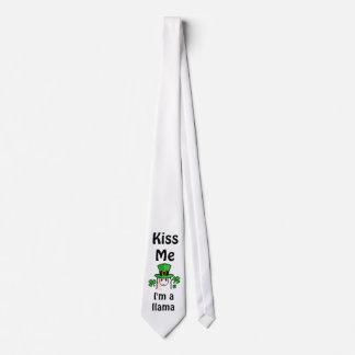 Kiss Me, I'm a Llama Tie