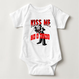 Kiss Me I'm A Mime Baby Bodysuit